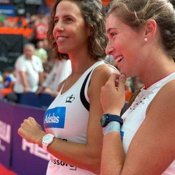 Marta Marrero y Marta Ortega