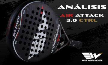 Wingpadel Air Attack 3.0 CTRL