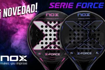 Nox XForce Blue Fiber