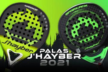 J'Hayber nuevas palas