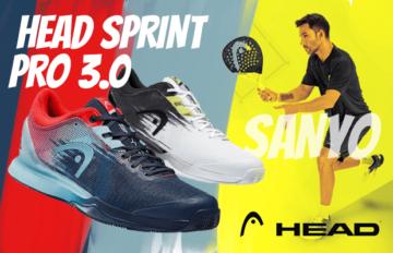 Head Sprint Pro 3.0 Sanyo