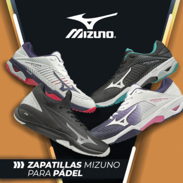 Zapatillas pádel Mizuno