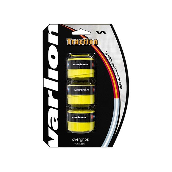 OVERGRIP VARLION TRACTION AMARILLO 3 UNIDADES