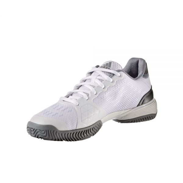 ZAPATILLAS ADIDAS JUNIOR BARRICADE BLANCO