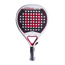 WILSON CARBON FORCE LITE BLANCO ROJO