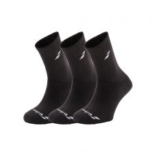 CALCETINES BABOLAT 3 PAIRS PACK NEGRO 5US17371 105