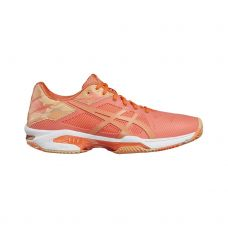 ASICS GEL SOLUTION SPEED 3 CLAY NARANJA MUJER E854N 0630
