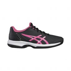 ASICS GEL COURT SPEED CLAY MUJER NEGRO ROSA E851N 9020