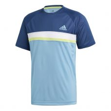 CAMISETA ADIDAS CLUB COLORBLOCK AZUL