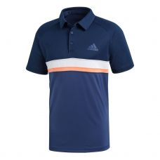POLO ADIDAS CLUB COLORBLOCK AZUL MARINO