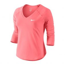 CAMISETA NIKE COURT PURE CORAL BLANCO MUJER