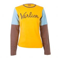 CAMISETA VARLION MD M/L06-MC617 AMARILLO