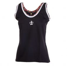 CAMISETA BLACK CROWN LOMBOK MUJER NEGRO ESTAMPADO