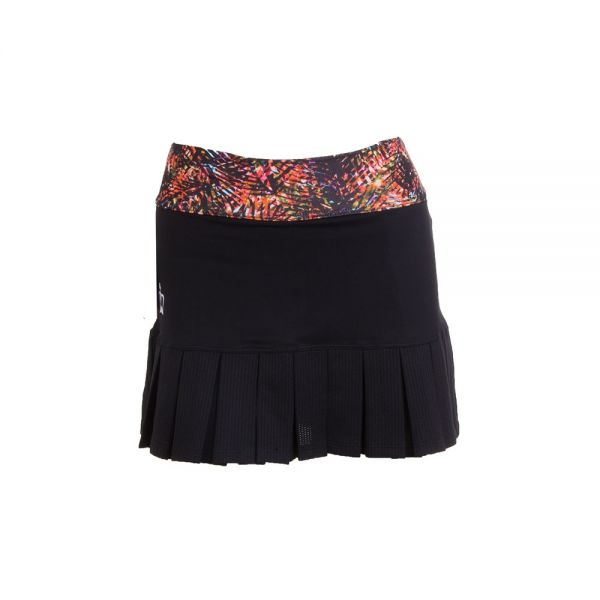 FALDA BLACK CROWN LOMBOK NEGRO ESTAMPADO
