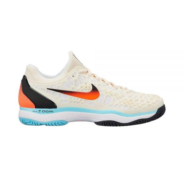 4421f282e Nike Zoom Cage 3 HC Crema - Máxima estabilidad