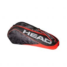 RAQUETERO HEAD TOUR TEAM 6R COMBI NEGRO ROJO