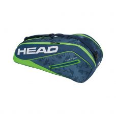 RAQUETERO HEAD TOUR TEAM 6R COMBI AZUL VERDE