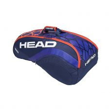 RAQUETERO HEAD RADICAL 9R SUPERCOMBI AZUL NARANJA