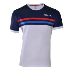 CAMISETA SIUX LUXURY MARINO BLANCO