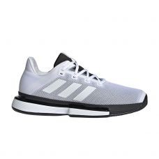 ADIDAS SOLEMATCH BOUNCE BLANCO NEGRO G26602
