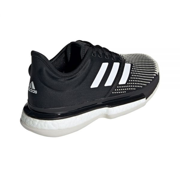 ADIDAS SOLECOURT BOOST CLAY NEGRO BLANCO MUJER G26305