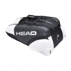 PALETERO HEAD DJOKOVIC 9R SUPERCOMBI NEGRO BLANCO