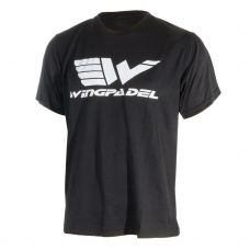 CAMISETA WINGPADEL WAVE NEGRO
