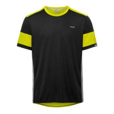 CAMISETA HEAD VOLLEY NEGRO AMARILLO