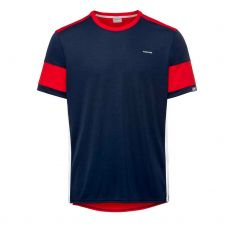 CAMISETA HEAD VOLLEY AZUL ROJO