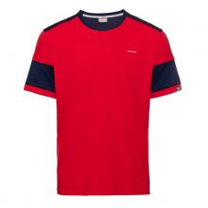 CAMISETA HEAD VOLLEY ROJO AZUL