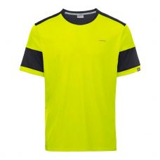 CAMISETA HEAD VOLLEY AMARILLO NEGRO