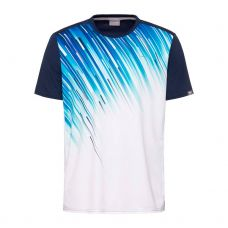 CAMISETA HEAD SLIDER BLANCO AZUL