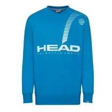 SUDADERA HEAD RALLY AZUL TURQUESA