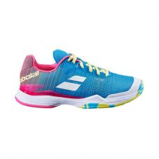BABOLAT JET MACH II CL AZUL ROSA MUJER