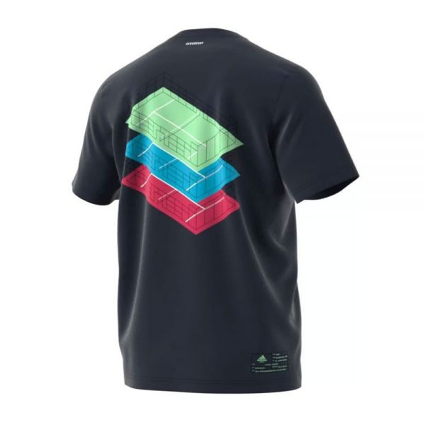 CAMISETA ADIDAS PADEL LEGEND INK AZUL NAVY