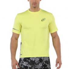 CAMISETA BULLPADEL UNION AMARILLO FLUOR
