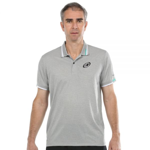 POLO BULLPADEL MACEO GRIS