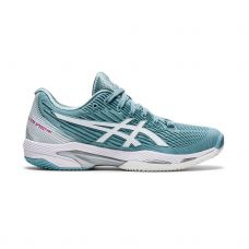 ASICS SOLUTION SPEED FF 2 CLAY AZUL BLANCO MUJER 1042A134 400