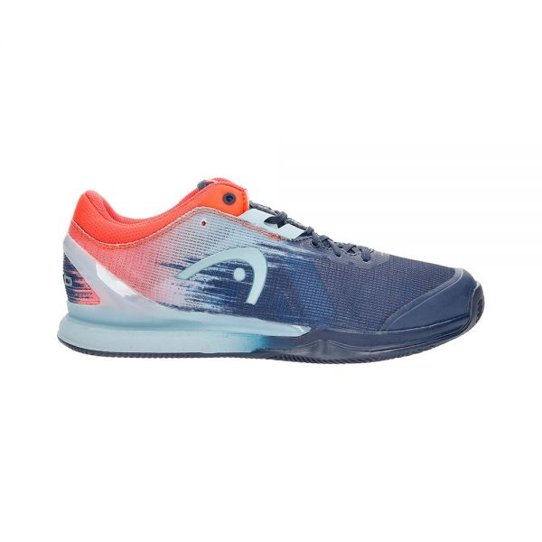 HEAD SPRINT PRO 3.0 CLAY AZUL NARANJA 273011 DBNR