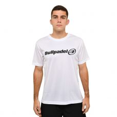 CAMISETA BULLPADEL 2021 BLANCO
