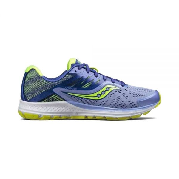 SAUCONY RIDE 10 MUJER LILA AZUL S103731