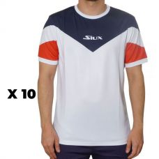 PACK 10 CAMISETAS SIUX LUXURY MATCH