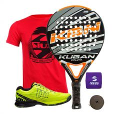 PACK KUGAN KALIMA Y ZAPATILLAS WILSON KAOS SAFETY AMARILLO