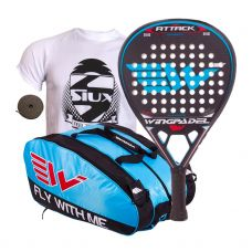 PACK WINGPADEL AIR ATTACK Y PALETERO WINGPADEL WESKAR