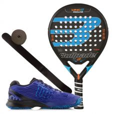Pack Bullpadel Wing 2 2017 y zapatillas Wilson Kaos