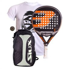PACK BULLPADEL LEGEND 2.0 LIMITED EDITION Y MOCHILA SIUX TRAIL 2.0 SILVER