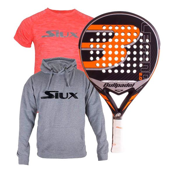 PACK BULLPADEL LEGEND 2.0 LIMITED EDITION Y TEXTIL SIUX