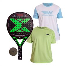 PACK NOX INTEGRAL P.1 PRO SERIES Y 2 CAMISETAS WINGPADEL