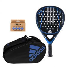 PACK ADIDAS PRO CARBON ATTK 1.9 Y PALETERO CONTROL CRB