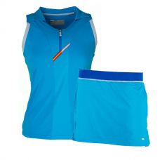 PACK FALDA VARLION MD12S03 AZUL Y POLO VARLION TURQUESA